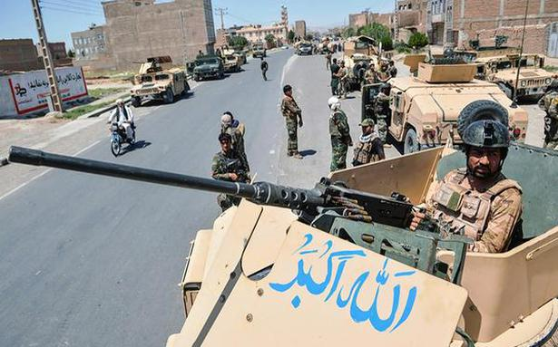Afghan forces digging in to defend cities