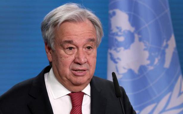 United Nations chief urges wealthy nations to phase out coal use by 2030