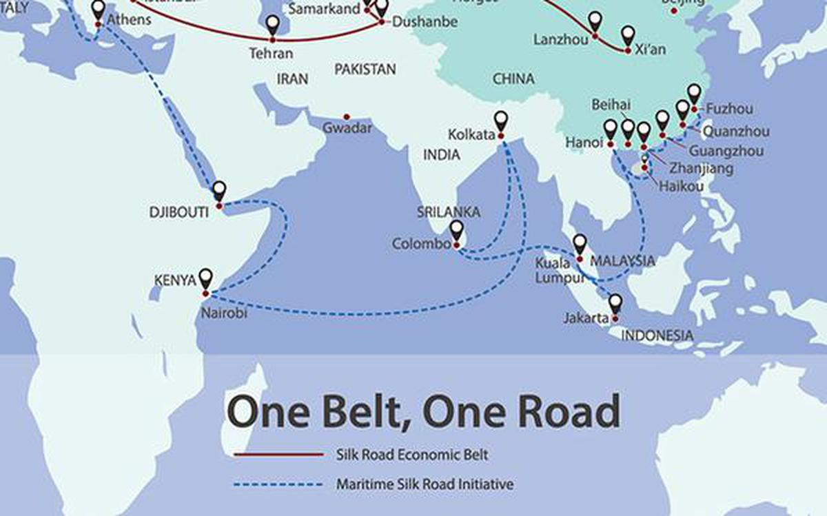 The Central Asian nodes in Belt and Road project - The Hindu