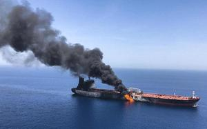 Why oil vessels are attacked in the Gulf?