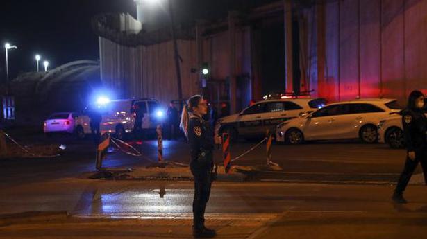 Israel says Palestinian car-ramming wounds paramilitary
