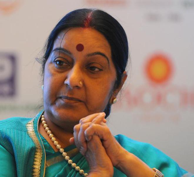 sushma swaraj asks indian mission to grant medical visa to pakistan