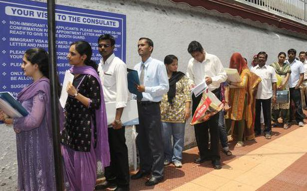 US Tightens HB Visa Programme The Hindu - Us consulate chennai map