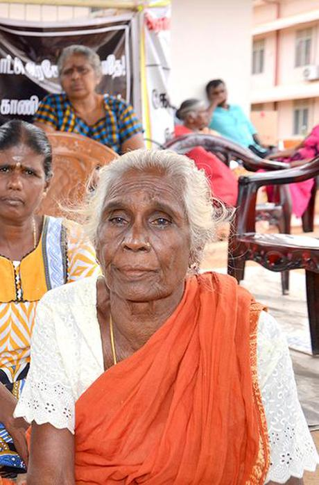 Tamil protests to reclaim land persist in Sri Lanka