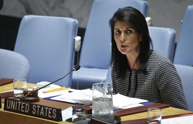 India can help U.S to keep an eye on Pakistan, says Nikki Haley