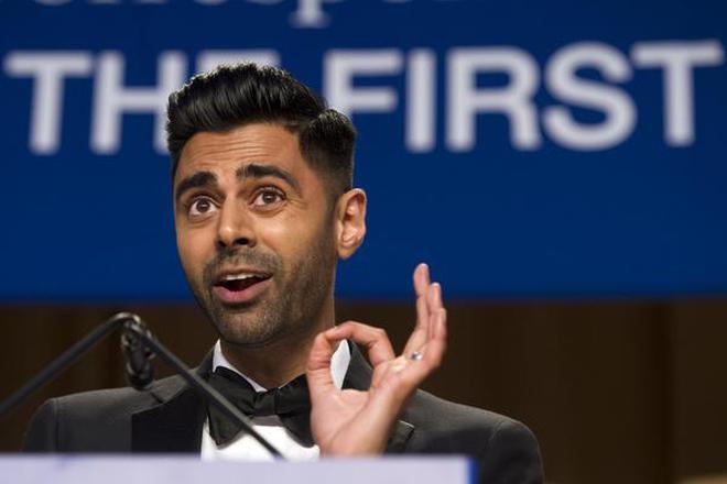 Indian American comedian roasts Trump at media dinner