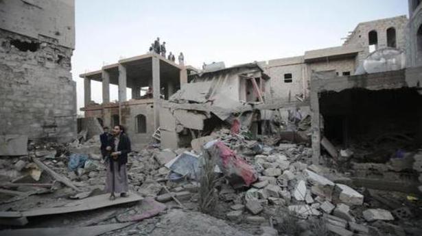 '24 killed in air raid on Yemen market'