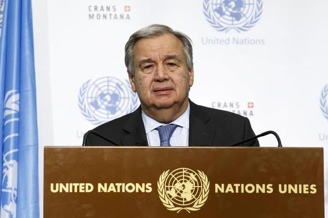 Un Chief Asks Us To Re Engage In 2015 Paris Climate Agreement The