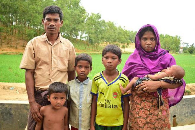 In This August 26 2017 Photo A Rohingya Man Poses For Picture With