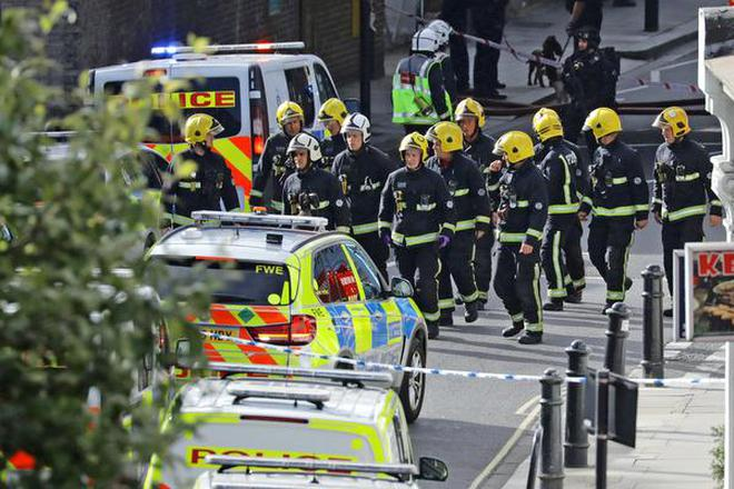 Image result for 22 hurt in London Tube blast,Britain faced its fifth terrorism incident i