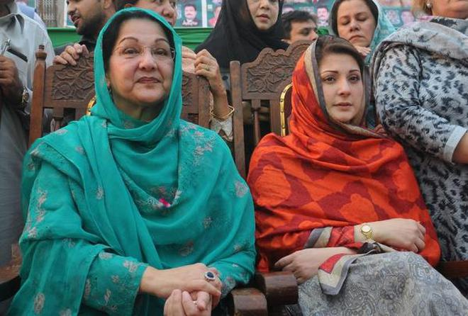 Nawaz Sharif, daughter and son-in-law granted parole to