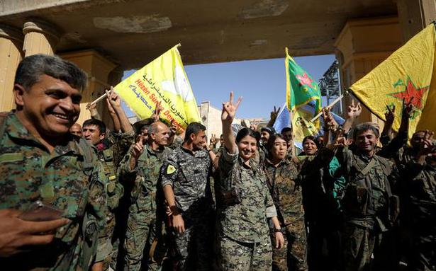 Syrian Democratic Forces capture Raqqa from Islamic State