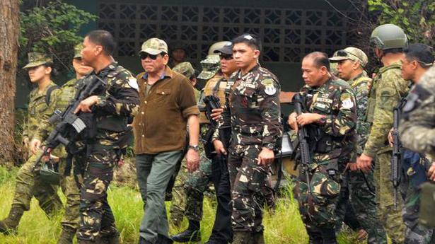 Duterte declares Marawi 'liberated'