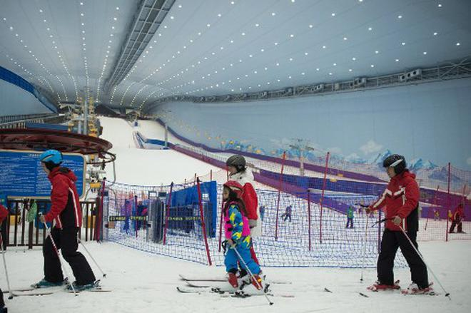 beijing working on low on snow problem ahead of 2022 winter olympics