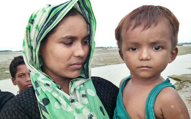 For Rohingya, it was all a blinding flash and a smear of ash