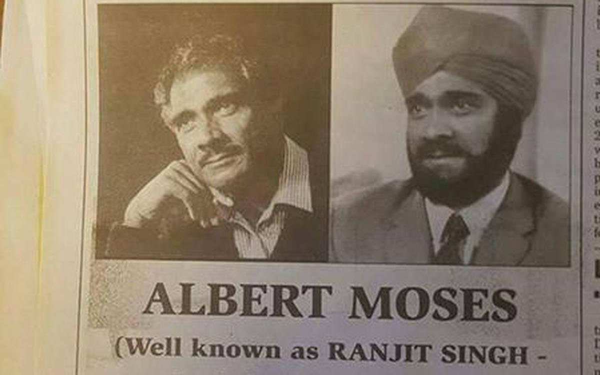 Final bow for Mind Your Language star Albert Moses The Hindu