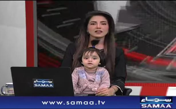 Pakistani anchor goes on-air with daughter to protest rape and murder of 7-year-old girl