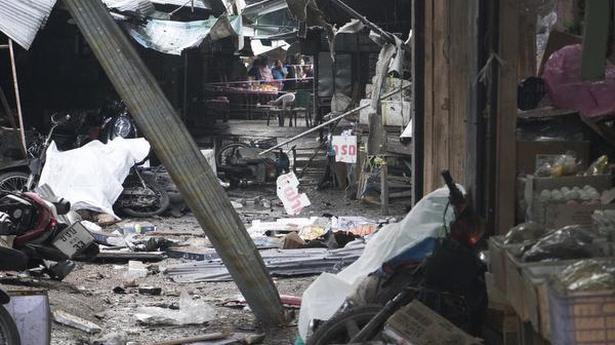 Motorcycle bomb kills three in Thailand