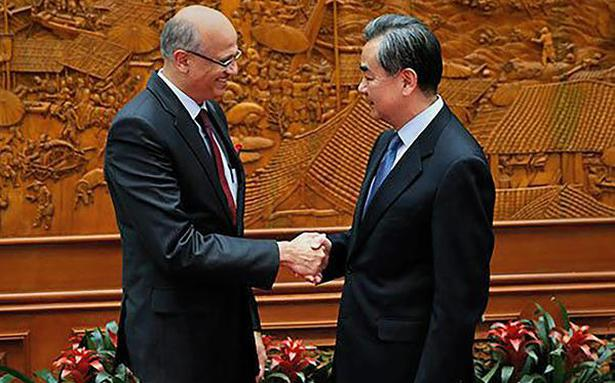 India, China hold across-the-board talks during Foreign ...