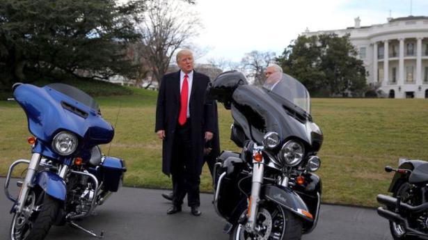 Revenue Intelligence closed Harley Davidson probe just before Trump-Modi call