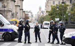Four killed in Paris police headquarters stabbing, attacker shot dead