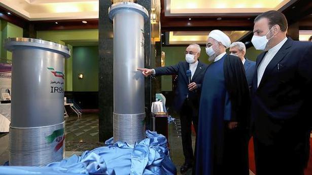 Iran unveils advanced nuclear centrifuges