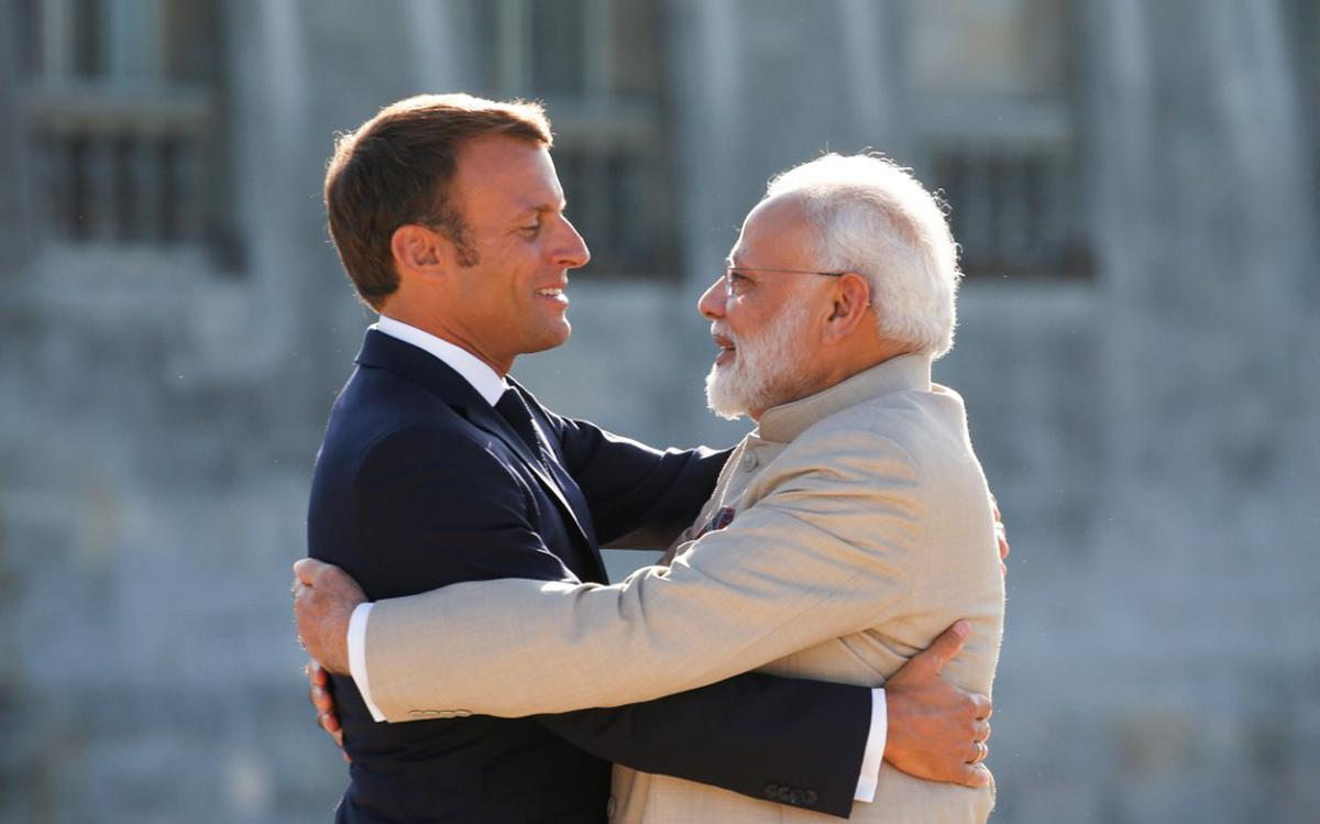 No need for third party mediation in Kashmir: Emmanuel Macron - The Hindu
