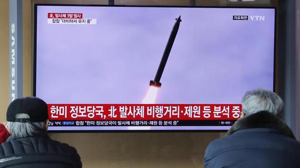 North Korea launches apparent ballistic missiles into ocean