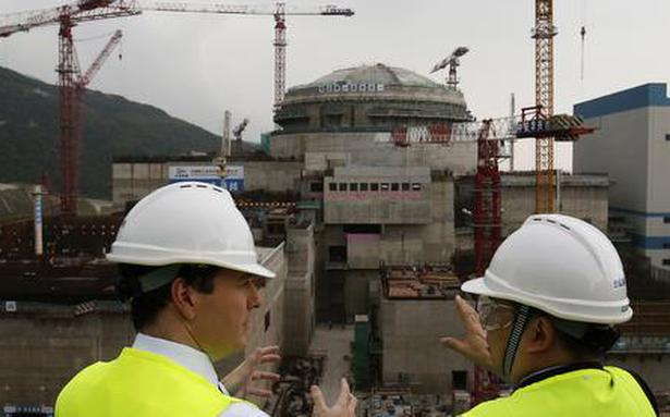 China nuclear plant facing 'performance issue', says operator