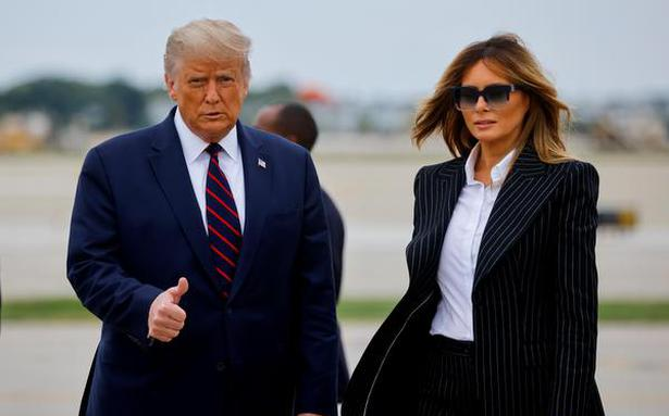U.S. President Trump tests positive for COVID-19