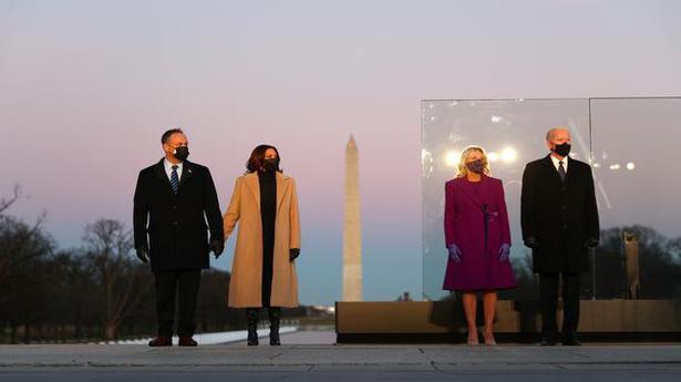 Joe Biden leads observance of America's 400,000 COVID-19 dead on eve of inauguration