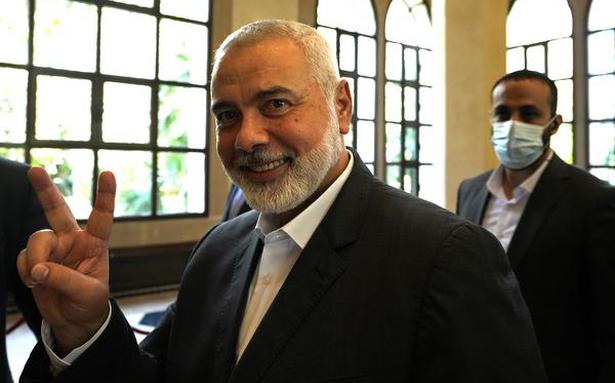 Hamas re-elects Ismail Haniyeh as its supreme leader