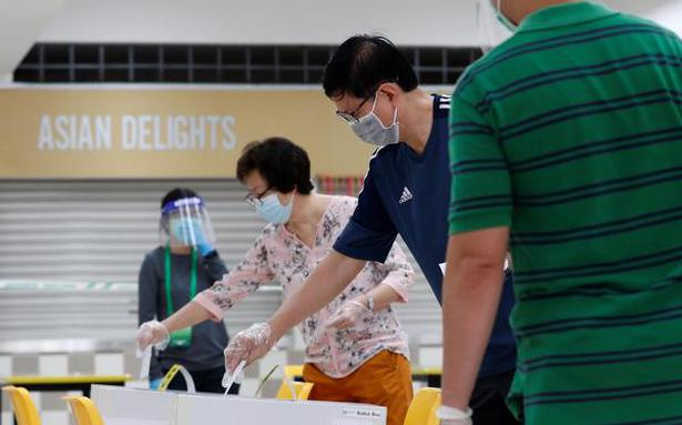 Singapore shows how to conduct elections during pandemic
