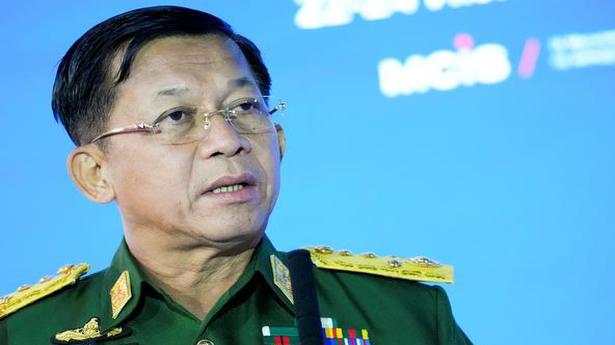 Myanmar junta leader blames opponents for prolonging unrest