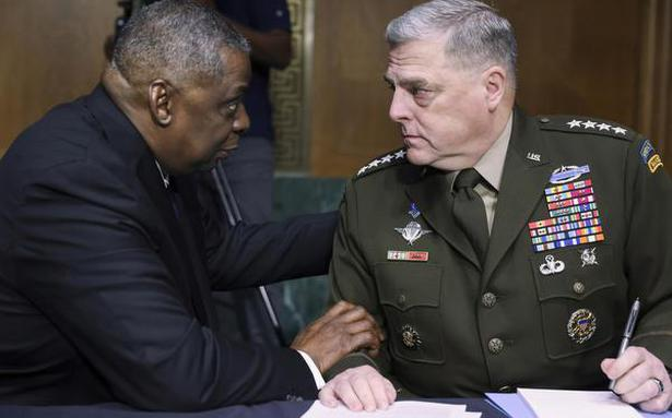 Pentagon leaders to face Congress on Afghan pullout decision
