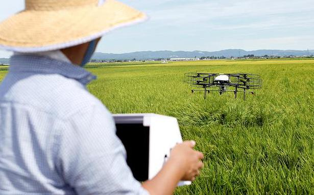 Hi-tech drones come to the aid of Japan's ageing farmers