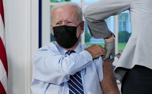 Joe Biden gets COVID-19 booster shot as additional doses roll out