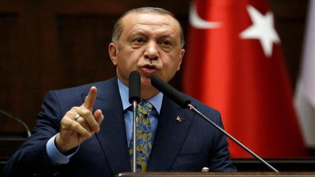 Turkey's Erdogan calls for boycott of French goods