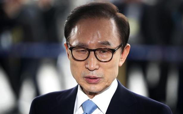South Korea's top court upholds 17-year jail term on ex-leader Lee Myung-bak