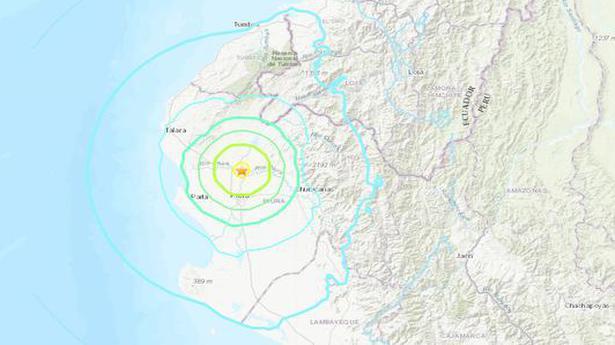 Earthquake shakes Peru's north Pacific coast