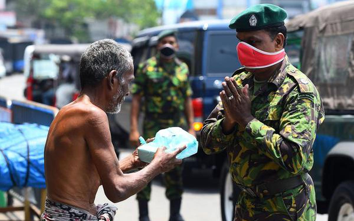 Covid 19 Sri Lankan Military Is Helping The Country Fight The Pandemic The Hindu