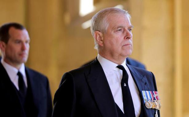 Prince Andrew served with papers in U.S. sexual assault lawsuit