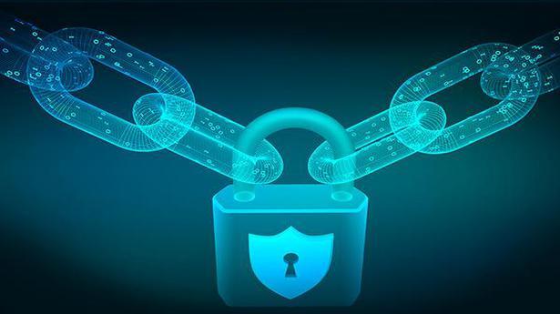 Block-chain-Lock-Cyber-security-safe-pri
