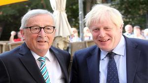 No breakthrough in Johnson's Brexit talks with EU's Juncker