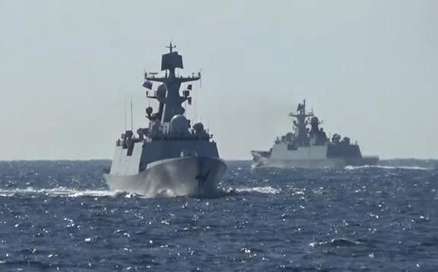 Russia, China hold first joint patrol in western Pacific Ocean