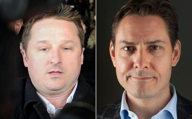 China releases two Canadians after U.S. Huawei deal