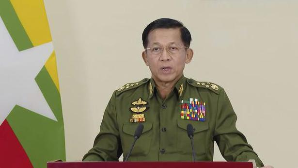 Join hands' with us for democracy, says Myanmar military coup leader - The  Hindu