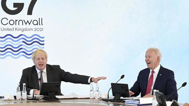 G7 pledges over 1 billion vaccine doses to poor nations: Boris Johnson