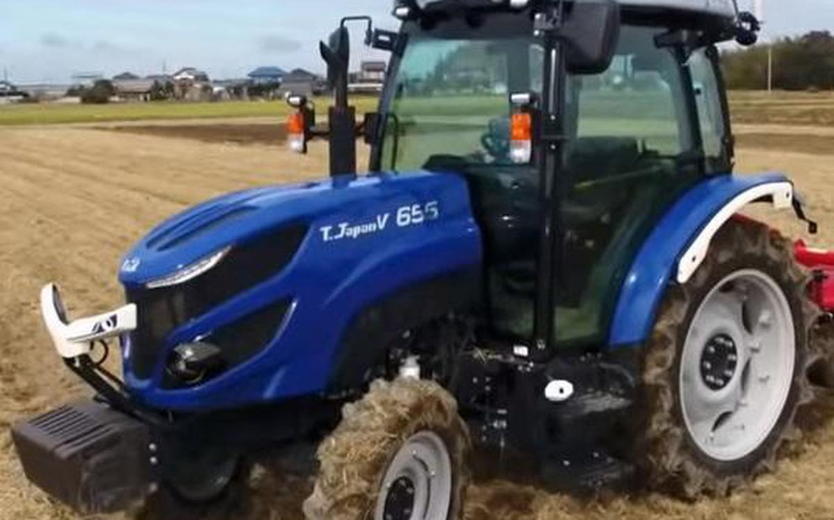 In Japan, driverless tractors are on the move - The Hindu