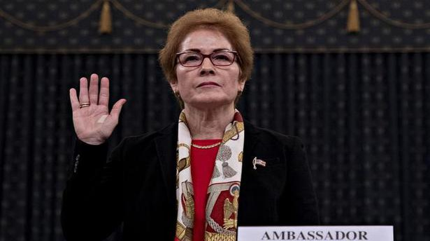 Trump impeachment hearing: Former US envoy to Ukraine Marie Yovanovitch testifies